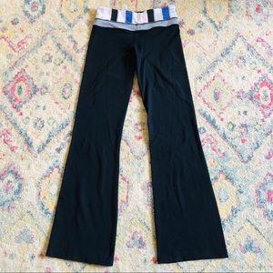 Lululemon Black Bootcut Leggings Pants 4